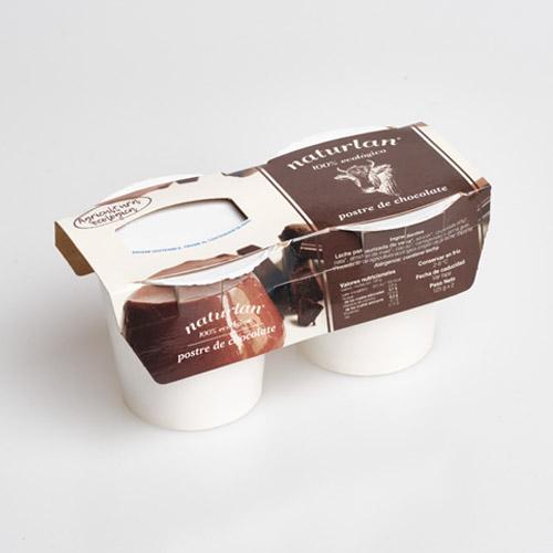 postre de chocolate ecologico